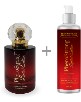PheroStrong Limited Edition for Women Perfum + Massage Oil