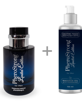 PheroStrong Limited Edition for Men Perfumy + Massage Oil