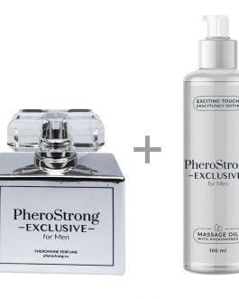 PheroStrong Exclusive for Men Perfum + Massage Oil