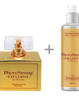 PheroStrong Exclusive for Women Perfum + Massage Oil
