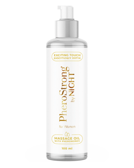 PheroStrong By Night for Women Massage Oil