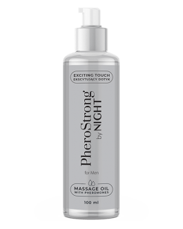 PheroStrong By Night for Men Massage Oil