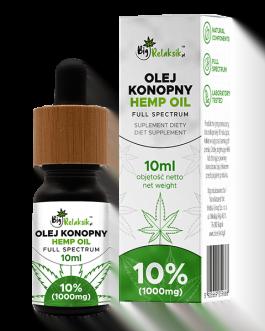 Olej Konopny 10% – 1000mg