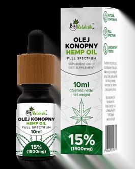 Olej Konopny 15% – 1500mg